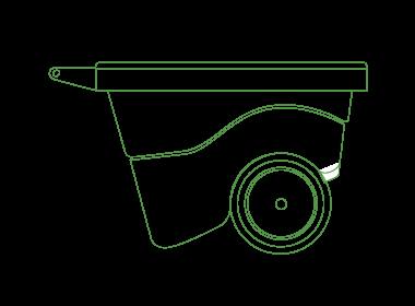 rollbox - Carriola multiuso ideale in giardino e nell'orto - Gianazza