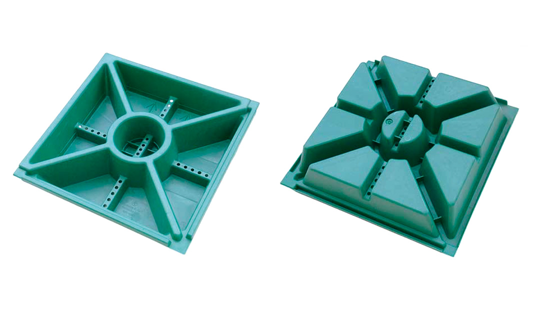 elementi modulari green roof