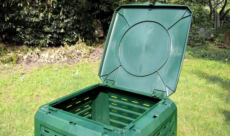 komposter easy capacità 400 Litri