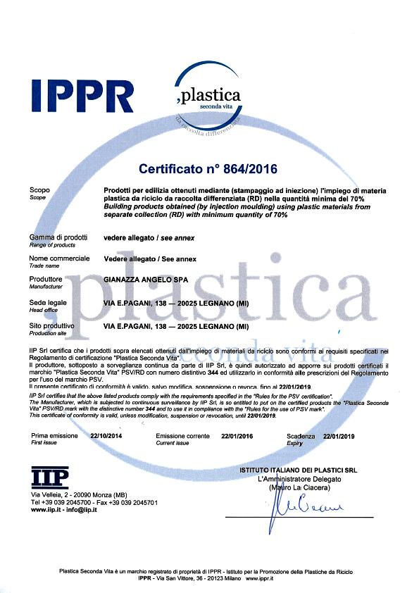 certificato ippr